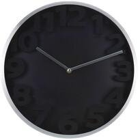 Zegar ścienny Number, czarny