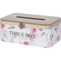 Dřevěný box na kapesníky Santini