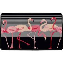 Butter Kings Vnitřní multifunkční rohožka Flamingos, 75 x 45 cm