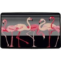 Butter Kings Vnútorná multifunkčná rohožka Flamingos, 75 x 45 cm