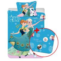 Výhodná sada dětské povlečení a prostěradlo Ledové království Frozen