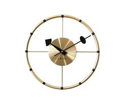 Zegar ścienny Lavvu Compass złoty, śr. 31 cm