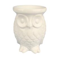 Lampă ceramică aromateroapie Bufniță 12,5 cm