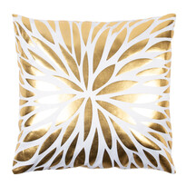 Vankúšik Gold De Lux Kvet, 43 x 43 cm