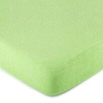 Cearceaf de pat 4Home, din bumbac fin, verde, 160 x 200 cm