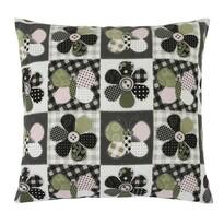 Pernă Dana fluture patchwork, 45 x 45 cm