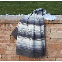 Matějovský bavlnená deka Summer sivá, 160 x 220 cm