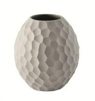 ASA Selection váza Carve 12 cm svetlo sivá
