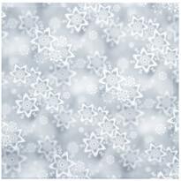 Vánoční ubrus Hvězdy stříbrná