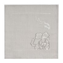 Vyšívaný ubrus Pivoňka, 35 x 35 cm