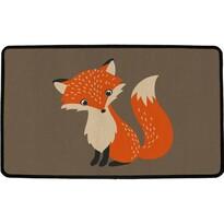 Butter Kings Wewnętrzna wycieraczka wielofunkcyjna Forest fox, 75 x 45 cm