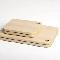 Deska do krojenia 02 większa z litego drewna klonowego