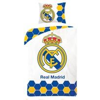 Lenjerie de pat Real Madrid 5013 1 pers., bumbac, 140 x 200 cm, 70 x 90cm