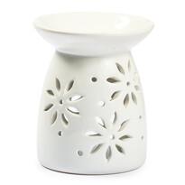 Kominek zapachowy biały kwiatki