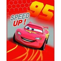 CTI Detská deka Cars Go Go Go, 110 x 140 cm