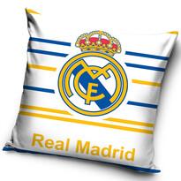 FC Real Madrid Stripes kispárna, 40 x 40 cm