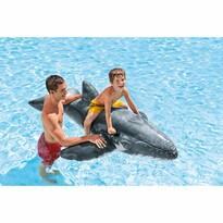 Intex Dmuchany wieloryb dla dzieci, szary