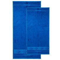 4Home komplet ręczników Bamboo Premium niebieski, 70 x 140 cm, 50 x 100 cm