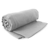 DecoKing Fitness Ręcznik kąpielowy Ekea srebrny