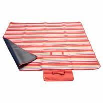 Pătură picnic Cattara Fleece, roşu, 150 x 135 cm