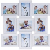 Fotorámček Ricordi na 9 fotografií, 52 x 52 cm