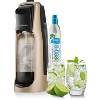 SodaStream Jet Premium Výrobník perlivé vody,  zlatá