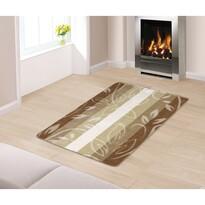 Levelek padlószőnyeg bézs színű, 80 x 120 cm