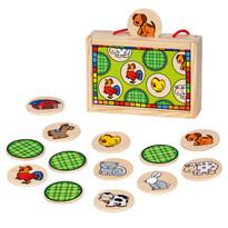 Bino Memory gra zwierzątka