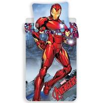 Dziecięca pościel bawełniana Iron Man, 140 x 200 cm, 70 x 90 cm