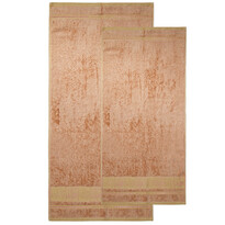 4home törölközö szett Bamboo Premium bézs színű, 70 x 140 cm, 50 x 100 cm
