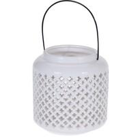 Suport lumânare, ceramică Steluțe, 18,5 cm
