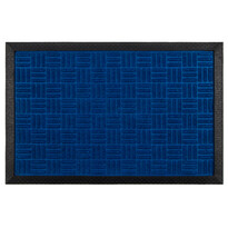 Covoraş din cauciuc albastru, 40 x 60 cm