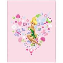 Pătură de copii Zâna Tinker Bell Fairies Springtime, 110 x 140 cm