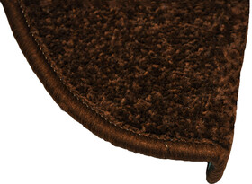 Nášlap na schody Eton, hnědá, 24 x 65 cm