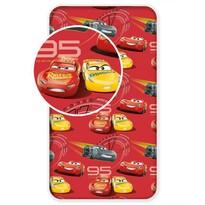 Dětské bavlněné prostěradlo Cars red 0290 x 200 cm