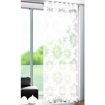 Zasłona Andre kwiaty biały, 135 x 245 cm
