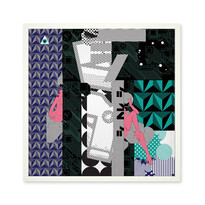 Plakat Ville 50 x 50 cm, druk cyfrowy