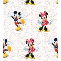Detská fototapeta Mickey a Minnie, 53 x 1005 cm