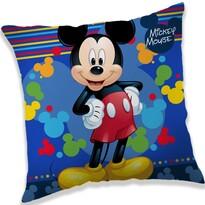 Vankúšik Mickey blue, 40 x 40 cm