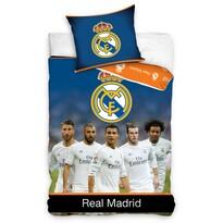 Bavlněné povlečení Real Madrid Team, 140 x 200 cm, 70 x 90 cm