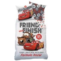 Dětské bavlnené obliečky Cars Formula Racers, 140 x 200 cm, 60 x 80 cm