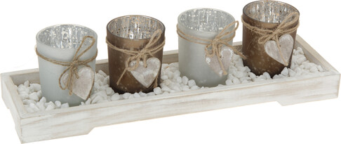Set svícnů Romantika