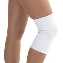 4Home kompresný návlek na koleno so strieborným vl