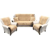 4Home Prehozy na sedaciu súpravu Baránok, 150 x 200 cm, 2 ks 65 x 150 cm