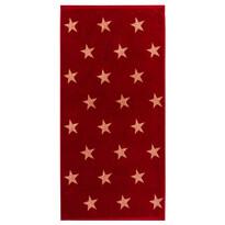 Stars törölköző, piros