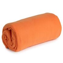 Sweety Calme polárfleece takaró, narancssárga, 130 x 170 cm