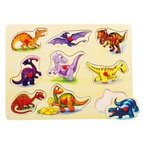 Bino Puzzle Dinosauři na desce