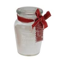 Vonná sviečka v skle Morlais biela, 9 cm