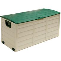 Fieldmann FDD 1002G Zahradní plastový box s kolečky