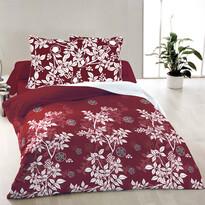 Bavlnené obliečky Molly červená, 140 x 200 cm, 70 x 90 cm